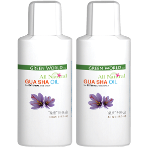 Gua Sha Oil (2 bottles)- for External only 樂康刮痧油