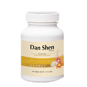 Dan Shen Pian (Blood Flow Smooth Tablet) x 12 bottles/Dozen 丹參片
